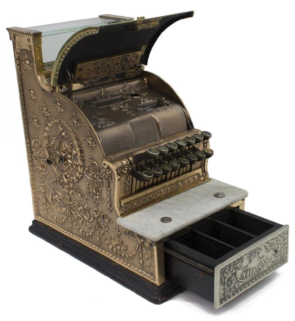 (2) NATIONAL CASH REGISTER 313 & CRANK TELEPHONE - 3