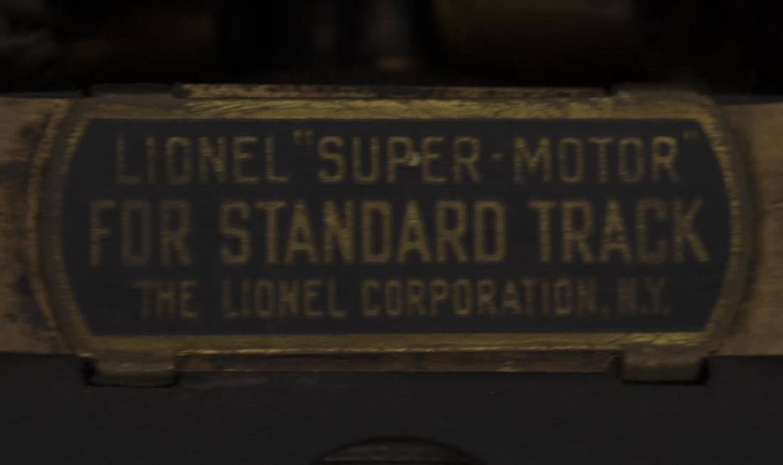 LIONEL SUPER MOTOR 408E LOCOMOTIVE, APPLE GREEN - 7