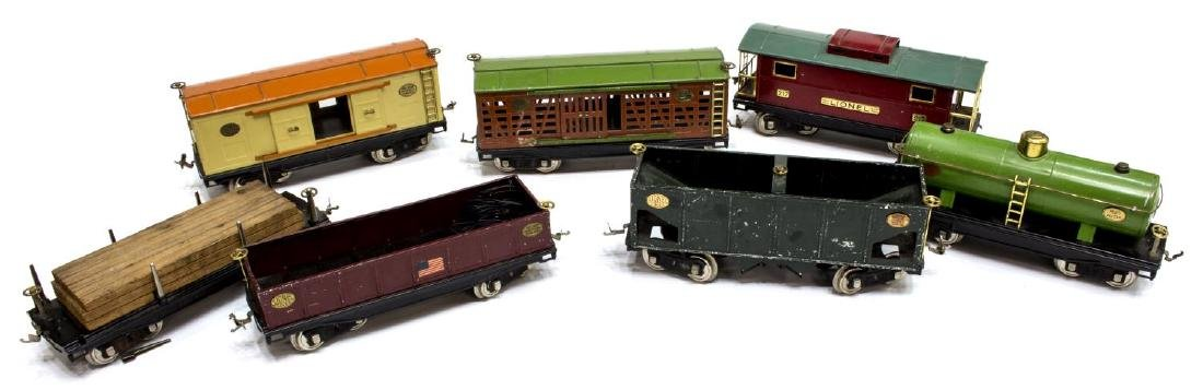 VINTAGE LIONEL FREIGHT CARS, TRACK & ACCESSORIES - 3