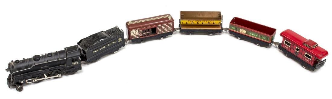 VINTAGE LOUIS MARX STREAM LINE ELECTRIC TRAIN SET - 2