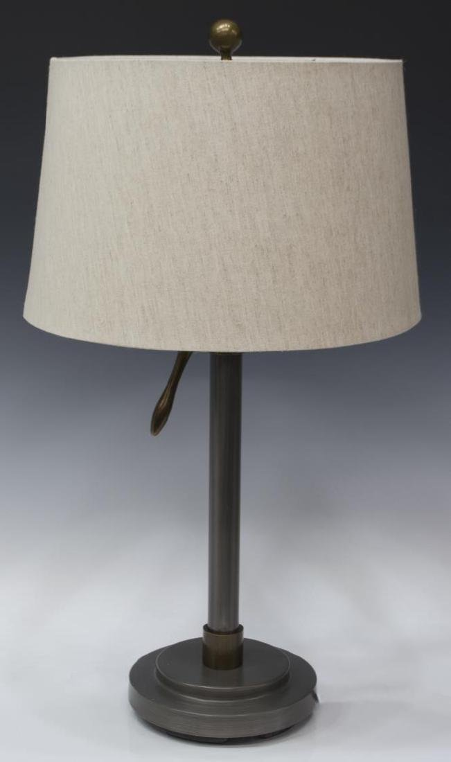 POTTERY BARN INDUSTRIAL STYLE 'SUTTER' TABLE LAMP