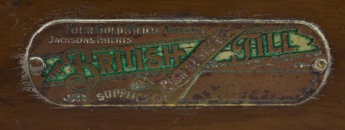 BRITISH MACHINE COMPANY LIMITED WOOD CASH REGISTER - 3