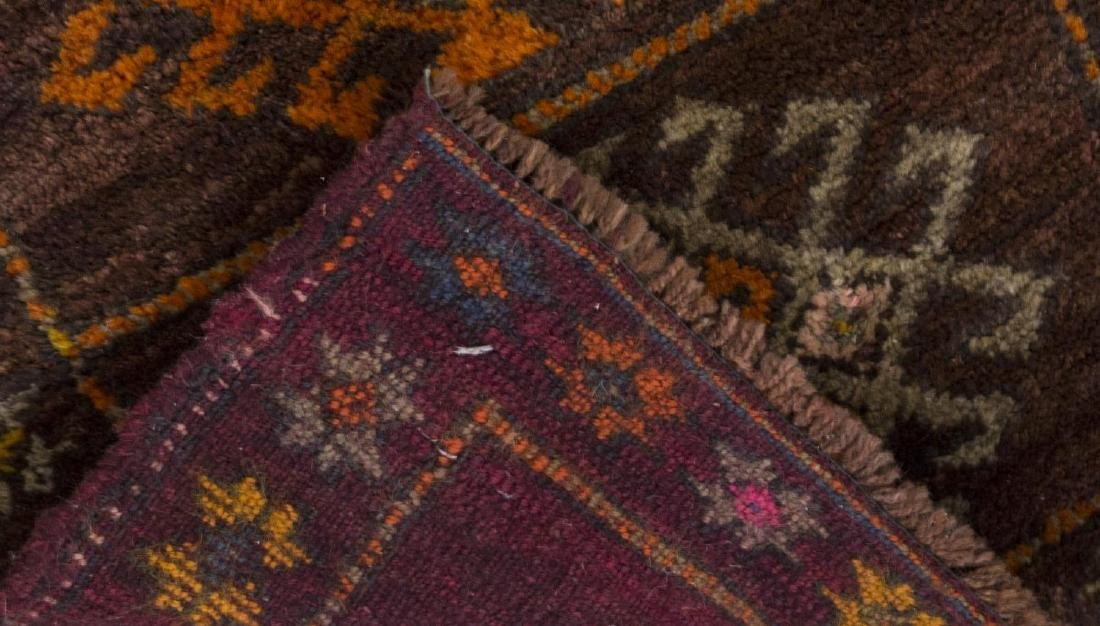 (3) SMALL HAND TIED WOOL RUGS - 3