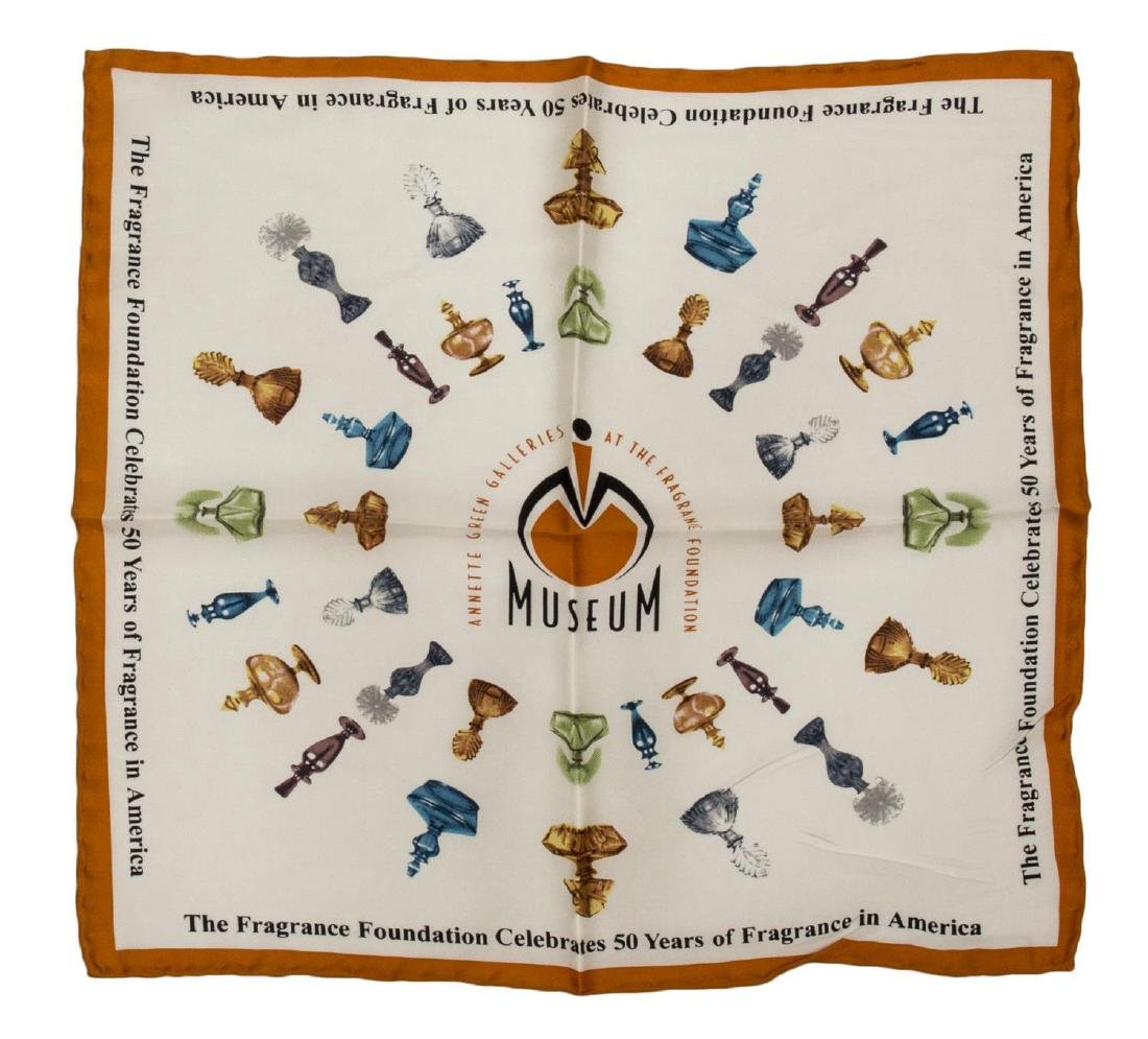 (6) GENTS COTTON AND SILK SCARVES POCKET SQUARES - 3