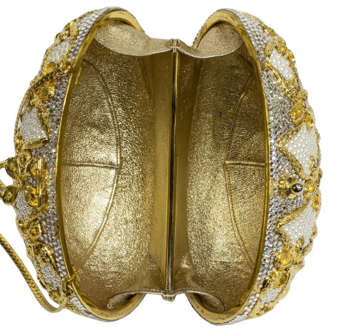 (2) JUDITH LEIBER EGG HAND BAG & ELEPHANT FOB - 3