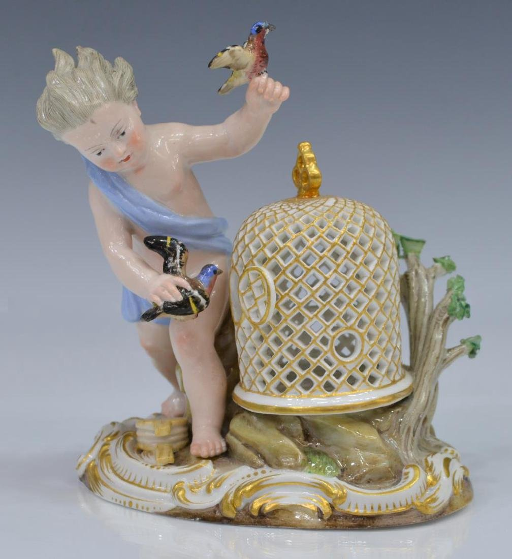 "MEISSEN FIGURAL GROUP, ""AIR"", ELEMENTS SERIES"