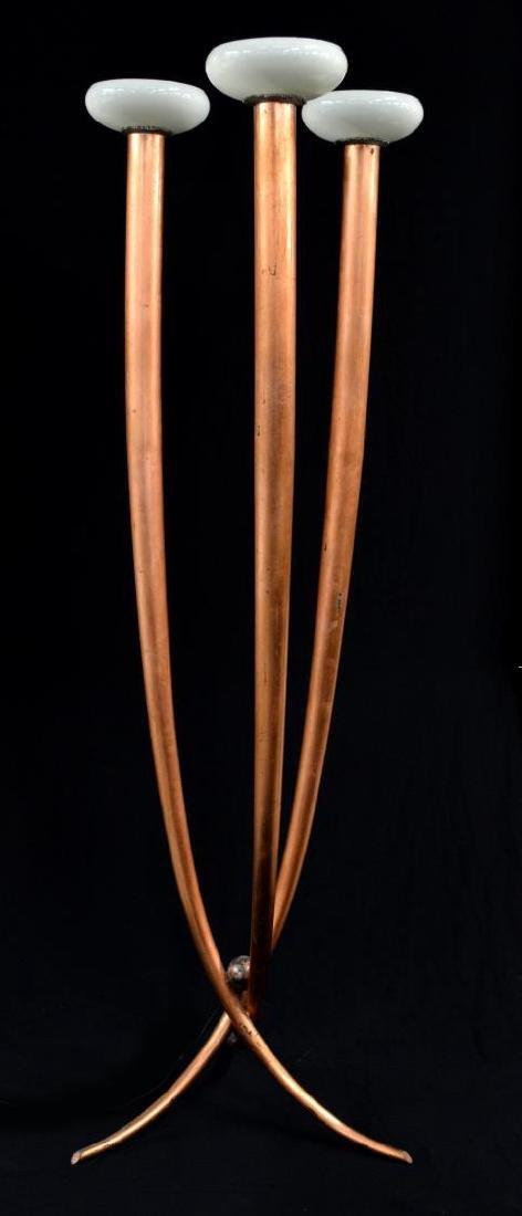 ITALIAN DESIGN THREE ARM FLOOR LAMP, C. 1960
