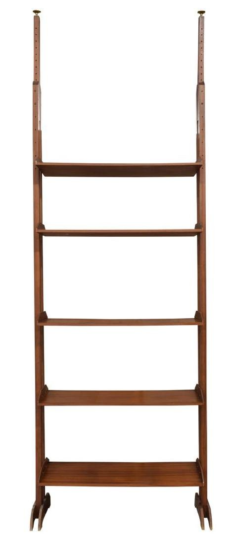 ITALIAN MID CENTURY MODERN ADJUSTABLE BOOKCASE - 2