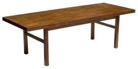 DANISH MID-CENTURY MODERN TEAKWOOD COFFEE TABLE