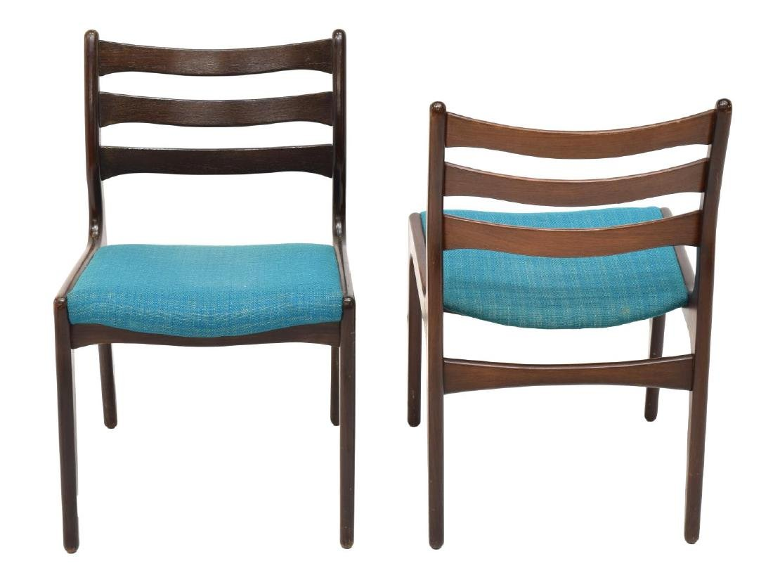 (5) DANISH MODERN ROSEWOOD SIDE CHAIRS - 2