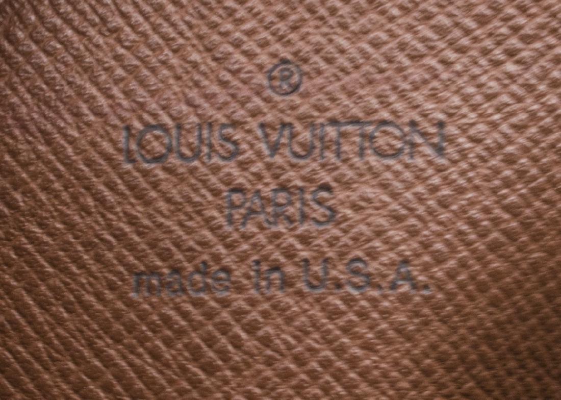 LOUIS VUITTON 'PAPILLON' MONOGRAM CANVAS HANDBAG - 5