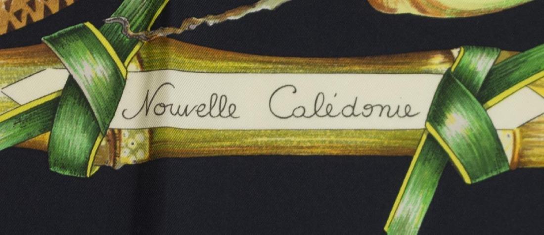 HERMES 'JARDIN CREOLE' SILK TWILL SQUARE SCARF - 4