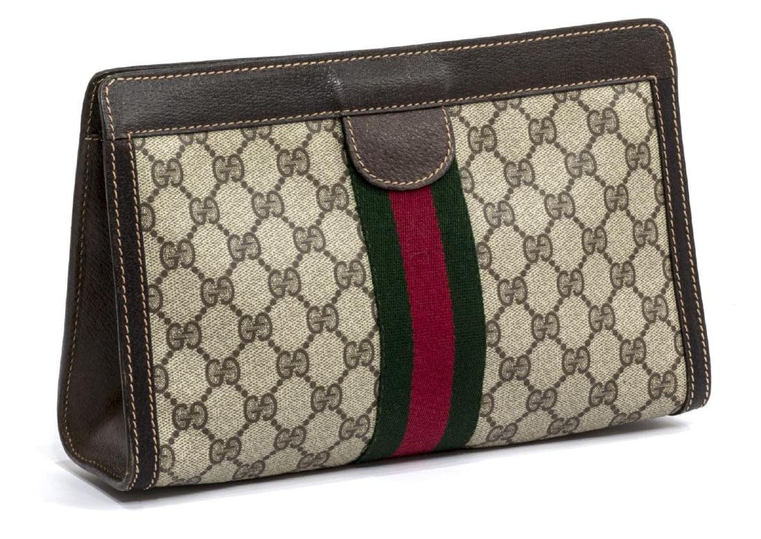 GUCCI ANNIVERSARY COLLECTION WEB GG COSMETIC BAG