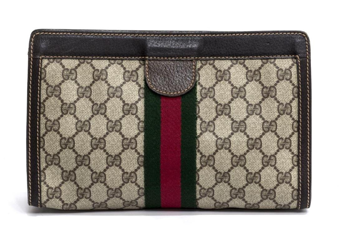 GUCCI ANNIVERSARY COLLECTION WEB GG COSMETIC BAG - 2