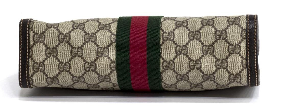 GUCCI ANNIVERSARY COLLECTION WEB GG COSMETIC BAG - 3