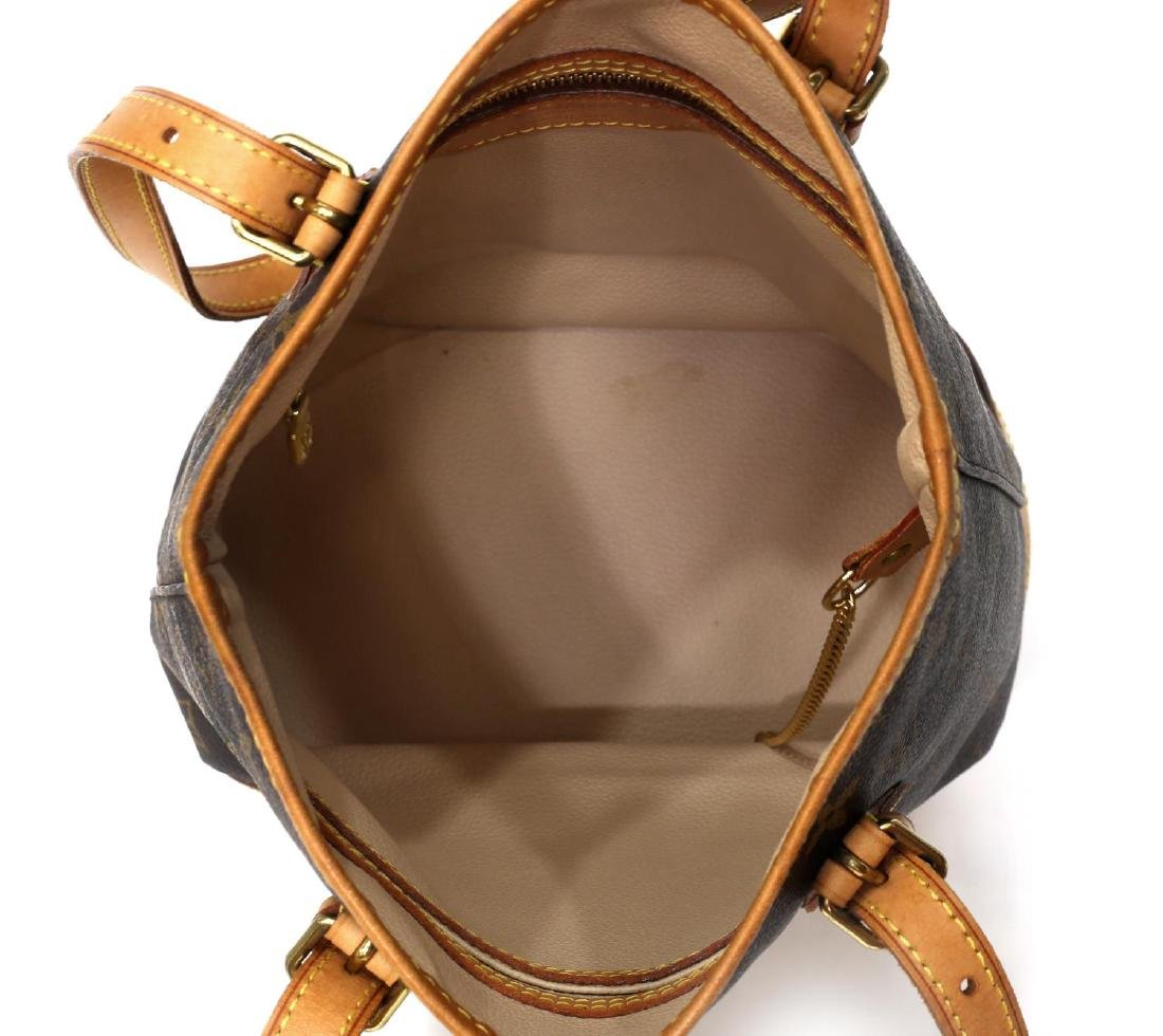 LOUIS VUITTON 'PM' MONOGRAM CANVAS BUCKET BAG - 5