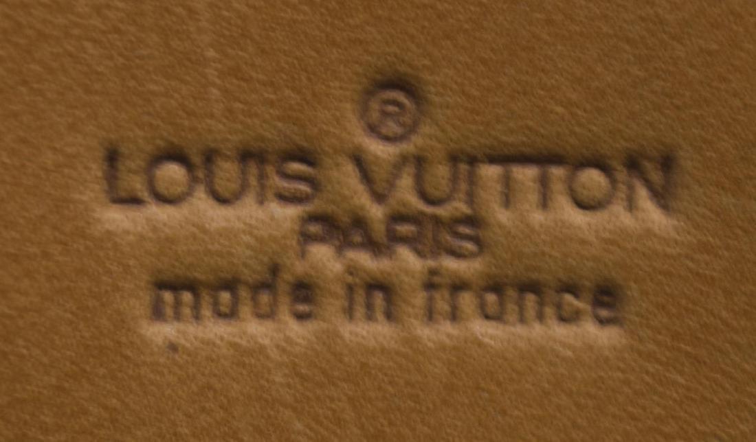 LOUIS VUITTON 'KEEPALL 60' MONOGRAM DUFFLE W/STRAP - 5