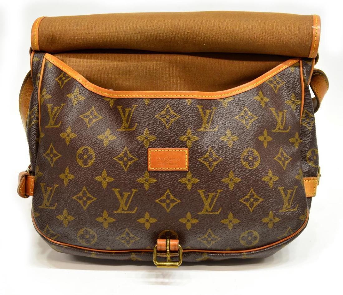 LOUIS VUITTON SAUMUR CROSSBODY MESSENGER BAG - 5
