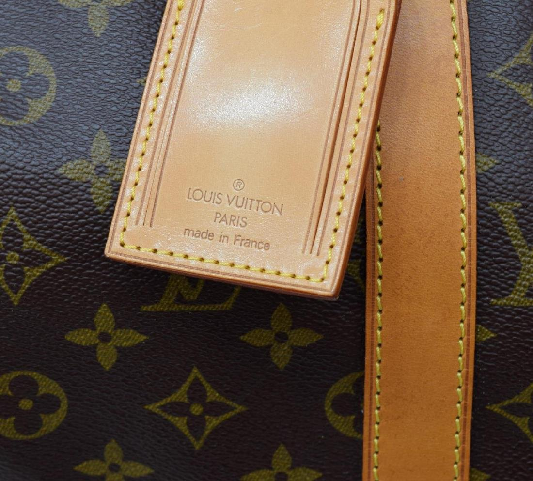 LOUIS VUITTON 'KEEPALL 50' MONOGRAM DUFFLE W/STRAP - 4