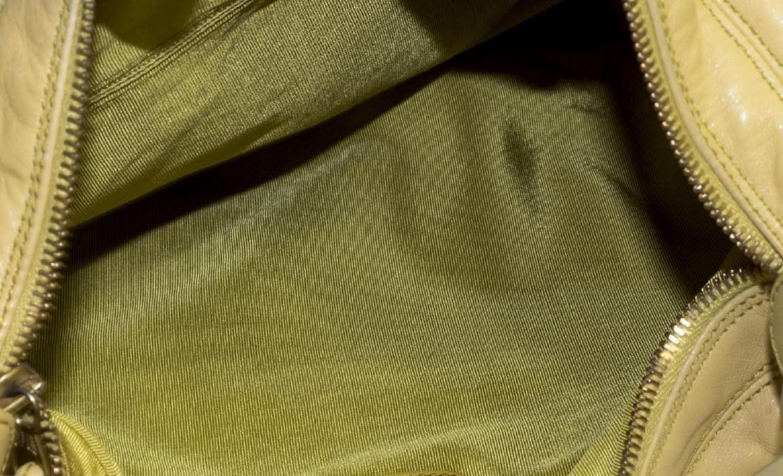 CHANEL TORTOISE SHELL LUCITE & LEATHER HANDBAG - 4