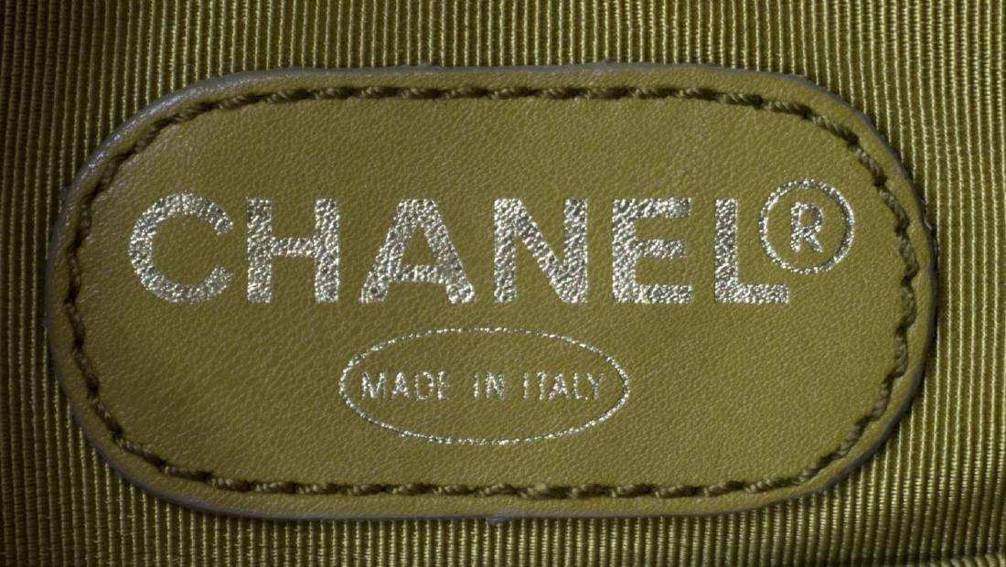 CHANEL TORTOISE SHELL LUCITE & LEATHER HANDBAG - 5