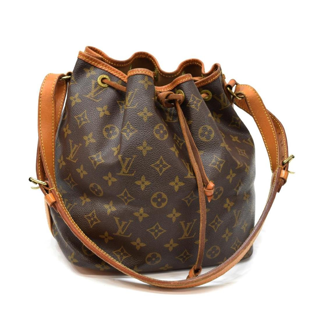LOUIS VUITTON 'NOE PM' MONOGRAM CANVAS BUCKET BAG