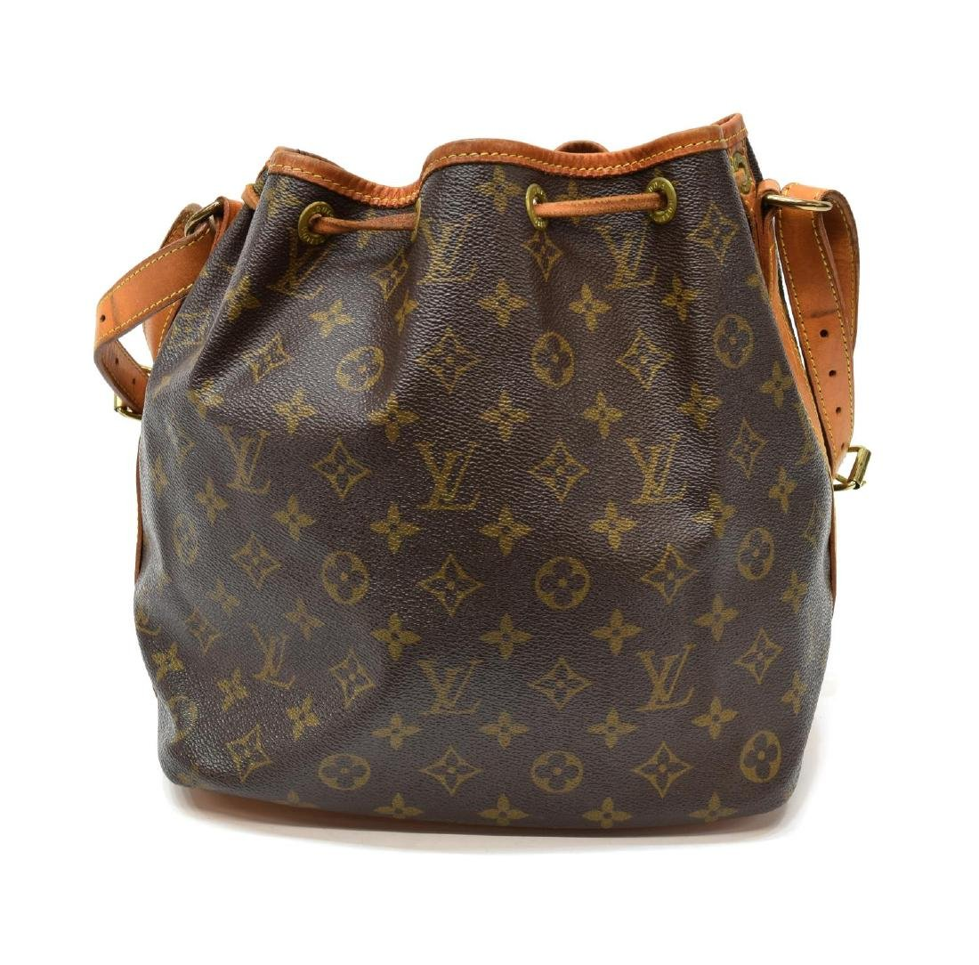 LOUIS VUITTON 'NOE PM' MONOGRAM CANVAS BUCKET BAG - 2