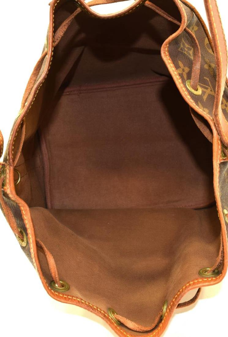 LOUIS VUITTON 'NOE PM' MONOGRAM CANVAS BUCKET BAG - 5