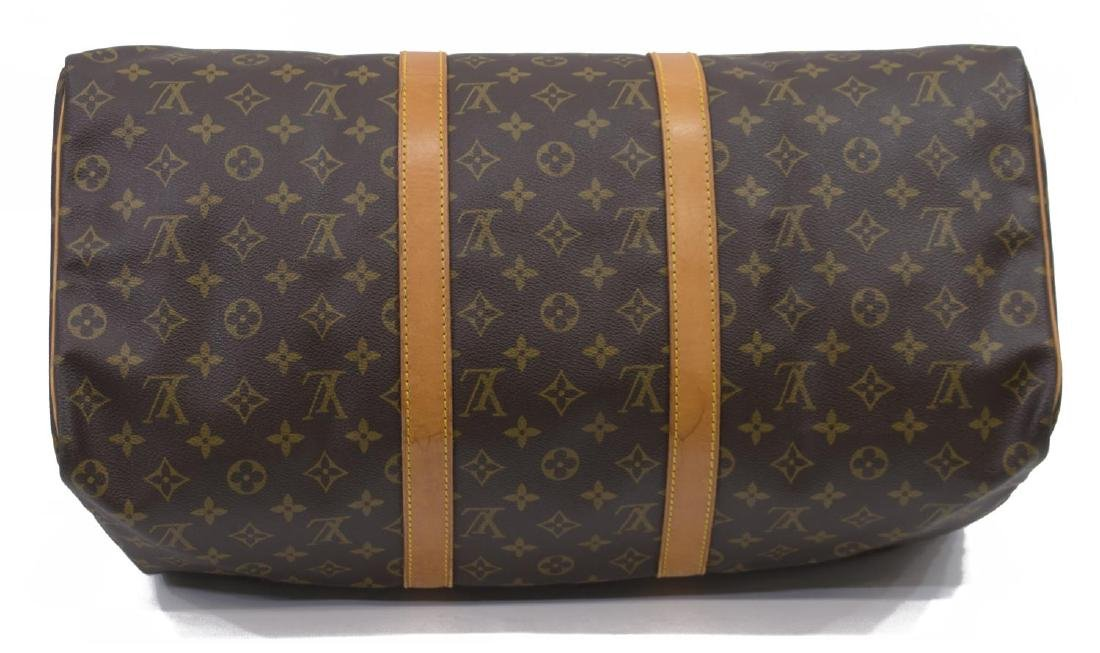 LOUIS VUITTON 'KEEPALL 50' MONOGRAM CANVAS DUFFLE - 3