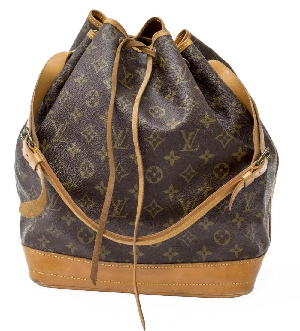 LOUIS VUITTON 'NOE GM' MONOGRAM CANVAS BUCKET BAG - 2