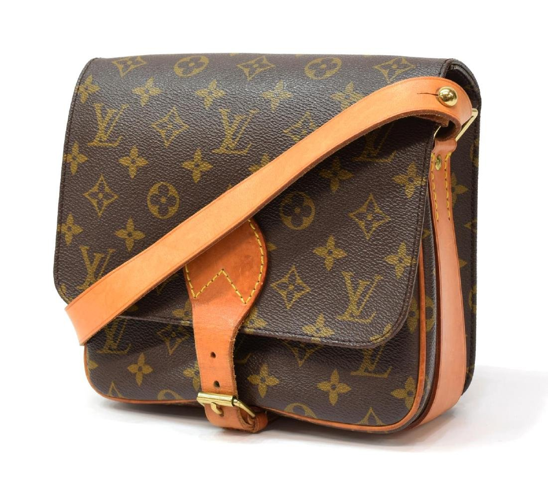 LOUIS VUITTON CARTOUCHIERE MONOGRAM CROSSBODY BAG