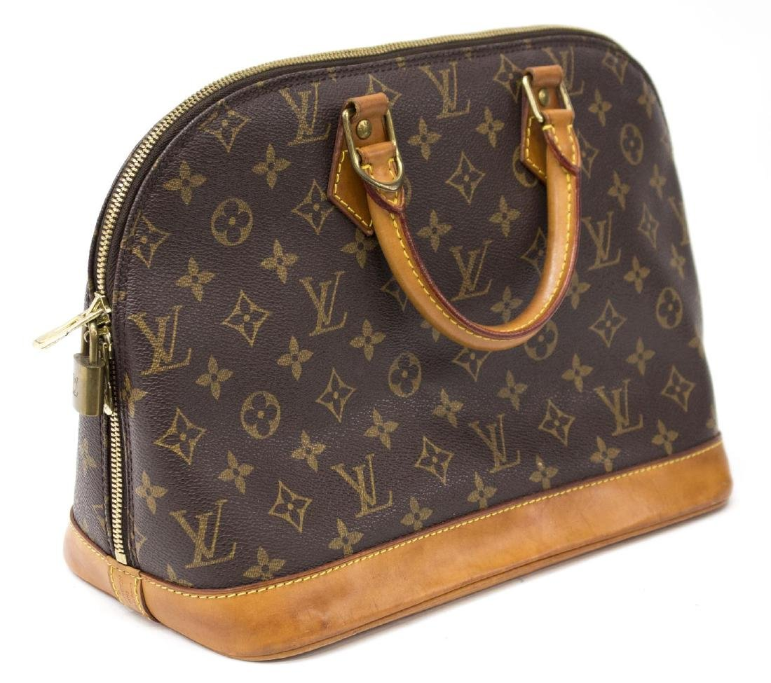 LOUIS VUITTON 'ALMA' MONOGRAM CANVAS HAND BAG - 2