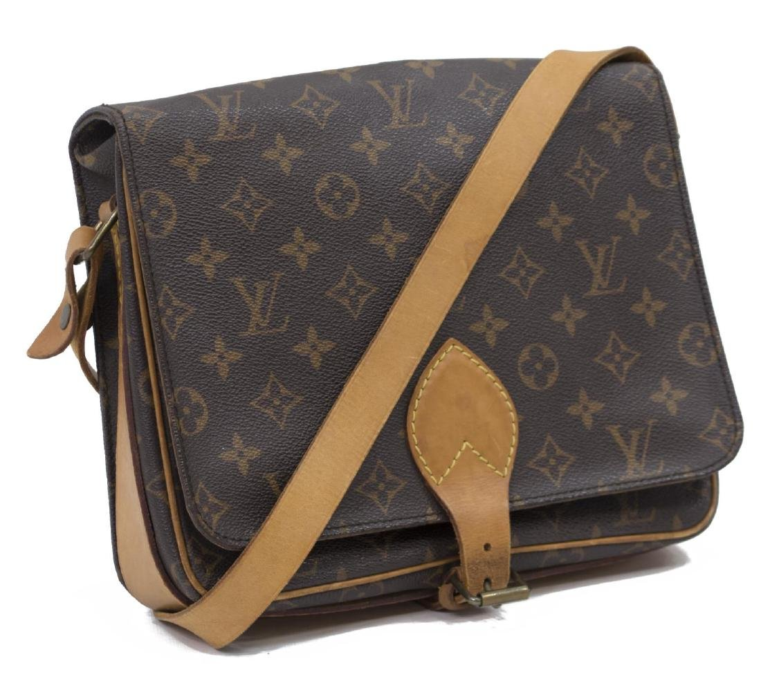 LOUIS VUITTON CARTOUCHIERE MONOGRAM CROSS BODY BAG
