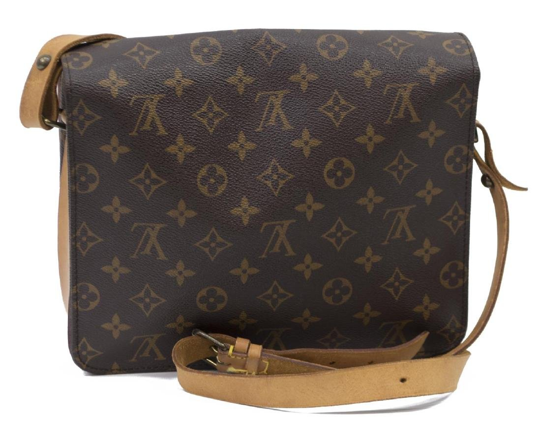 LOUIS VUITTON CARTOUCHIERE MONOGRAM CROSS BODY BAG - 2