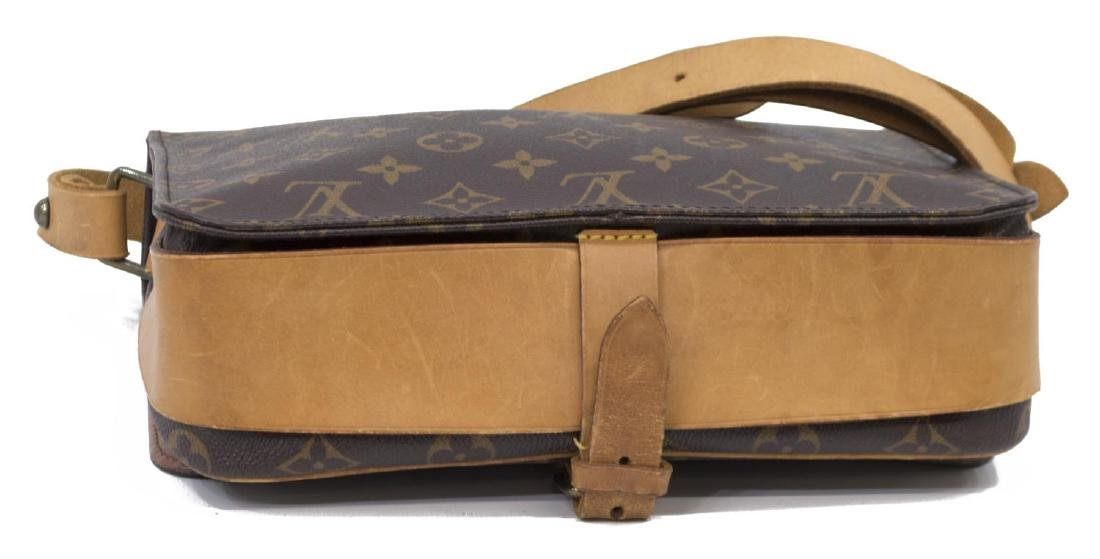 LOUIS VUITTON CARTOUCHIERE MONOGRAM CROSS BODY BAG - 3