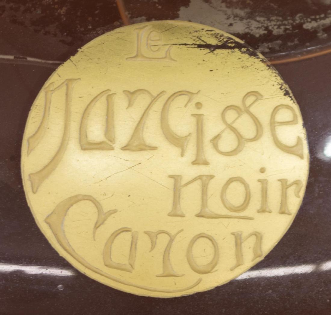 (2) NARCISSE NIOR CARON PERFUME BOTTLE & DISPLAY - 2