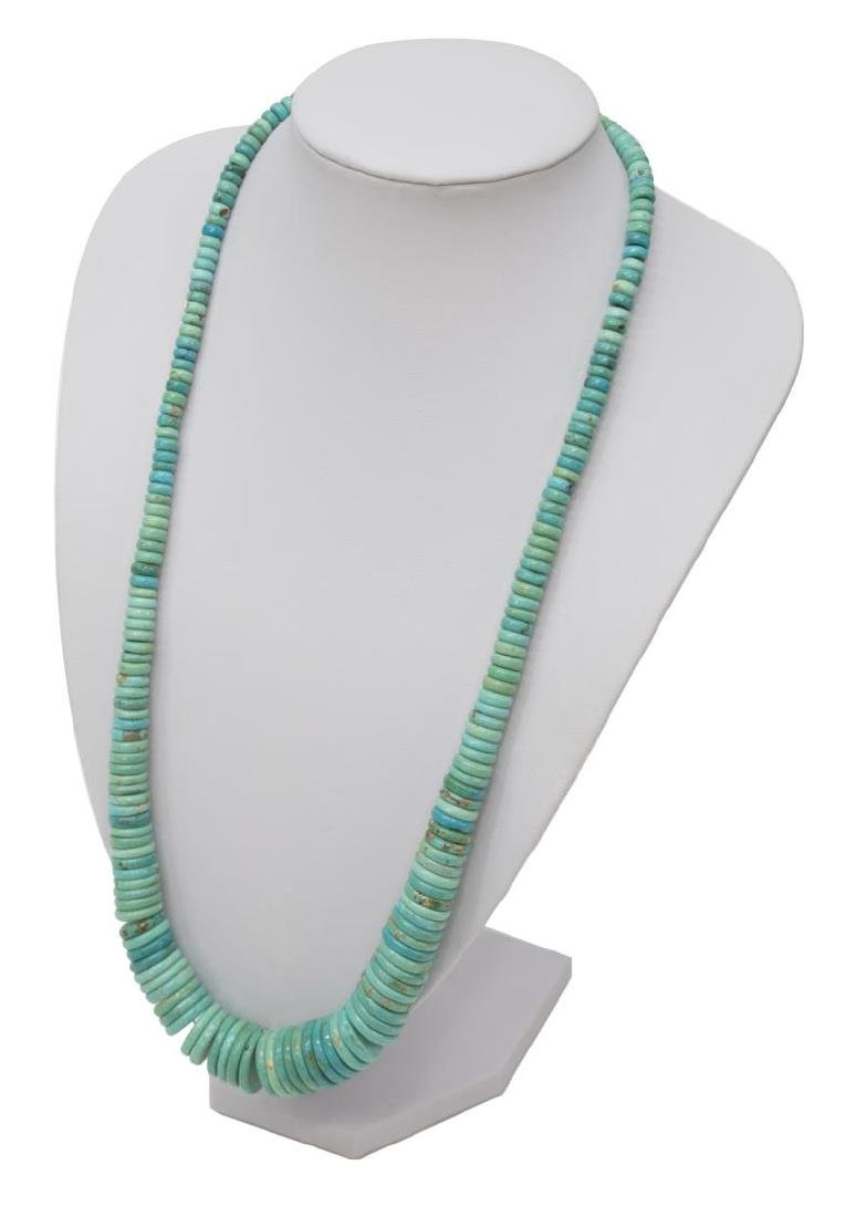 (6) LADIES ESTATE STERLING & TURQUOISE JEWELRY GRP - 3