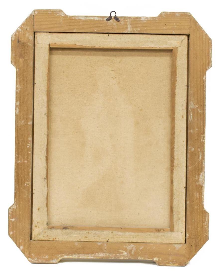 CHARLES X STYLE GILT WOOD FRAME WITH PRINT - 3