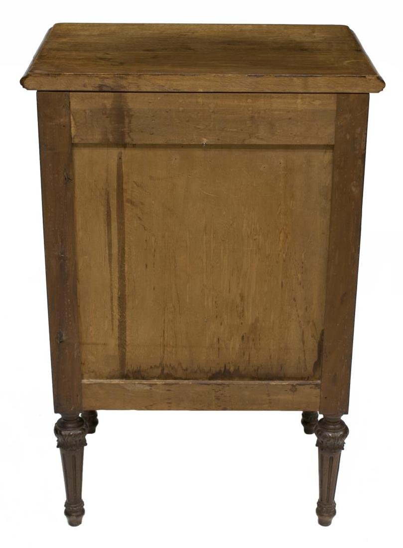 (2) ITALIAN LOUIS XVI CARVED BEDSIDE CABINETS - 4