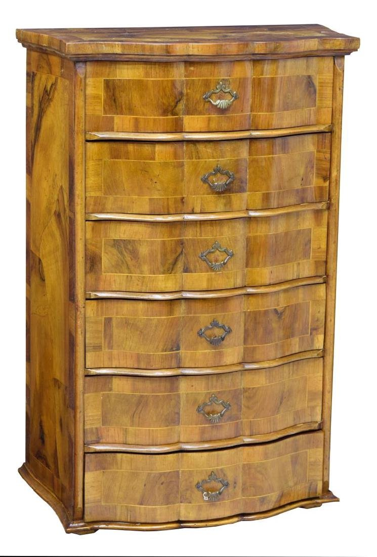 ITALIAN PATCHWORK CHEST OF DRAWERS
