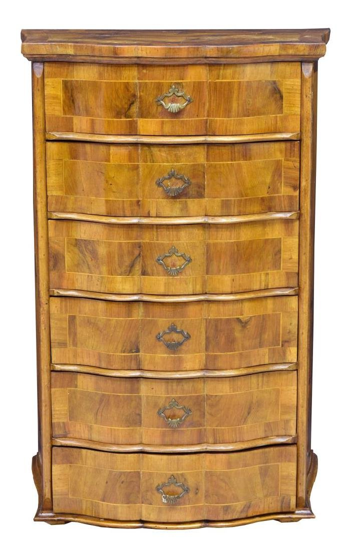 ITALIAN PATCHWORK CHEST OF DRAWERS - 2