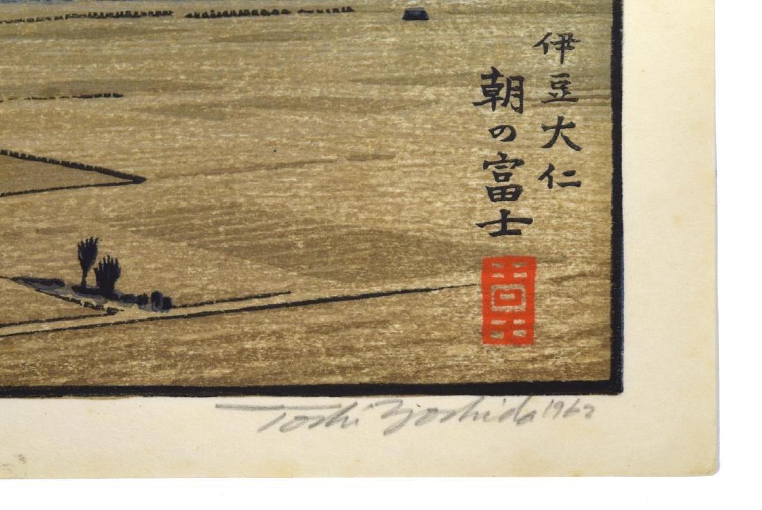 TOSHI YOSHIDA (JAPANESE 1911-1995) MT FUJI OHITO - 3
