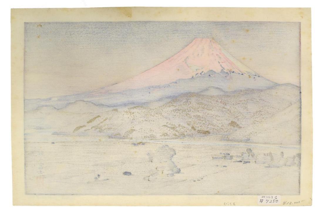 TOSHI YOSHIDA (JAPANESE 1911-1995) MT FUJI OHITO - 5