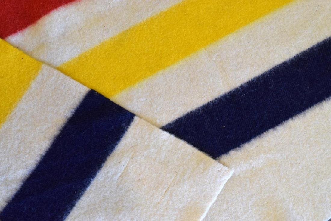 HUDSON'S BAY POINT STRIPPED WOOL BLANKET - 3
