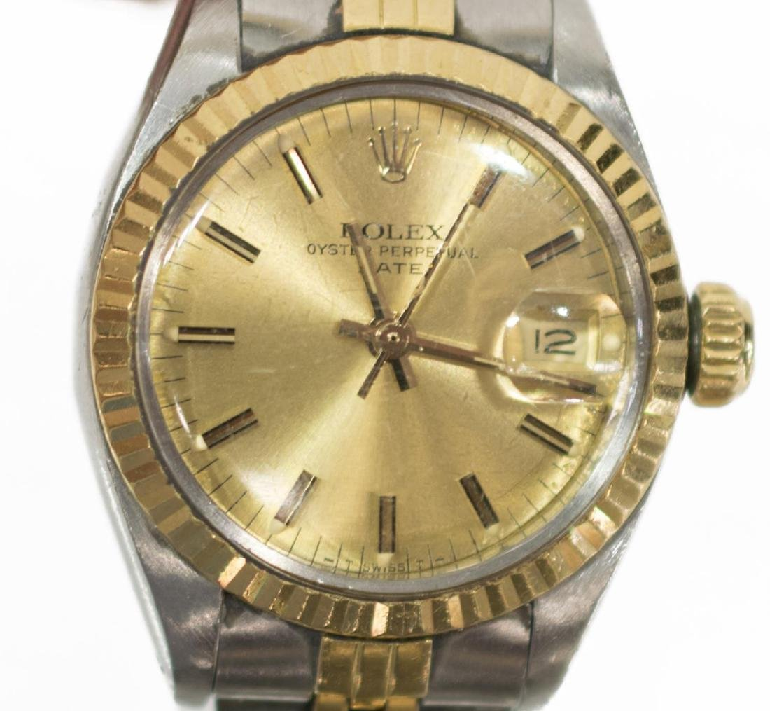 LADIES ROLEX OYSTER PERPETUAL DATE JUBILIEE WATCH