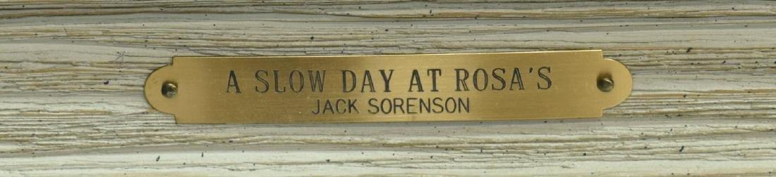 JACK SORENSON (TEXAS B 1955) 'A SLOW DAY AT ROSAS' - 5