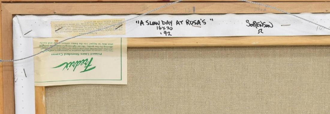 JACK SORENSON (TEXAS B 1955) 'A SLOW DAY AT ROSAS' - 6