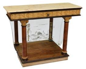 ITALIAN EMPIRE REVIVAL CONSOLE TABLE