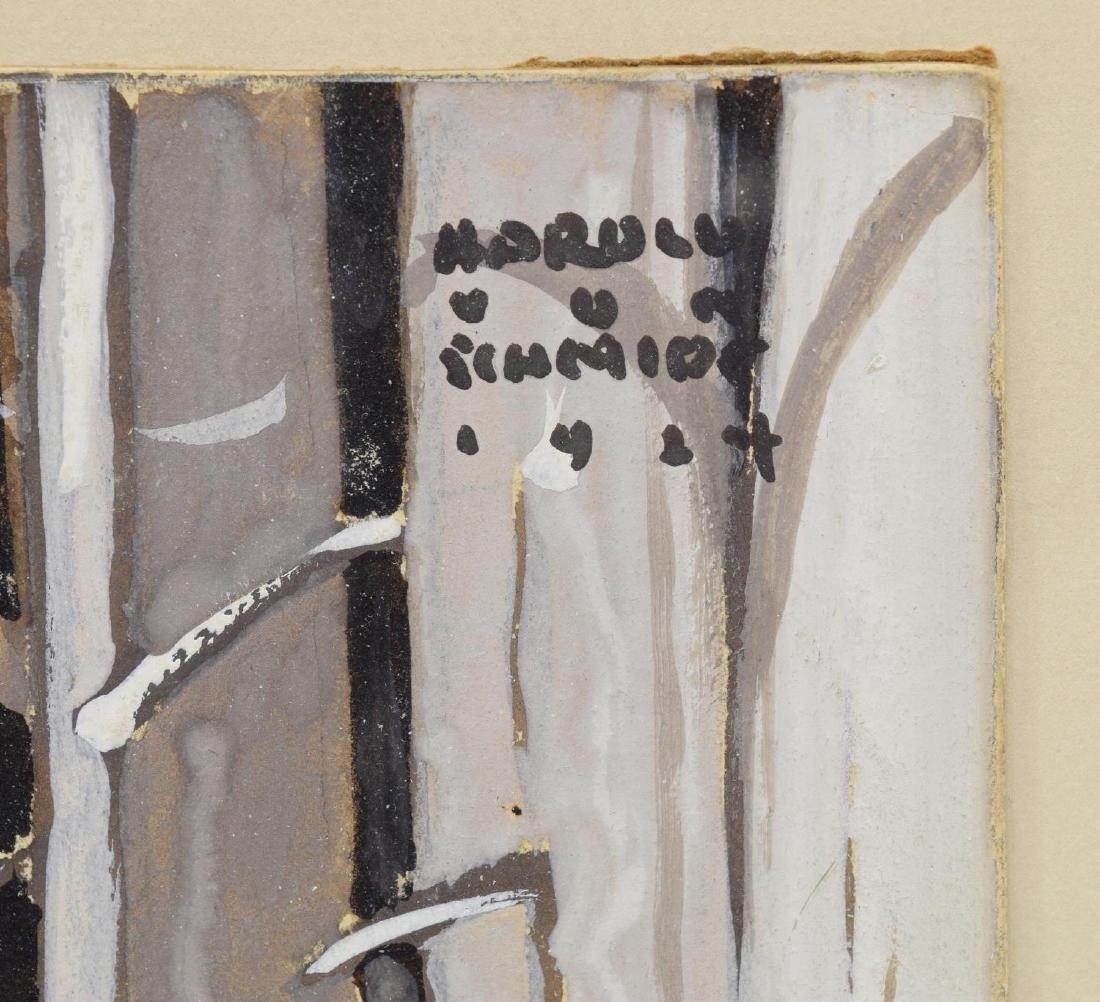 HAROLD VON SCHMIDT (1893-1982) DEER PAINTING - 4