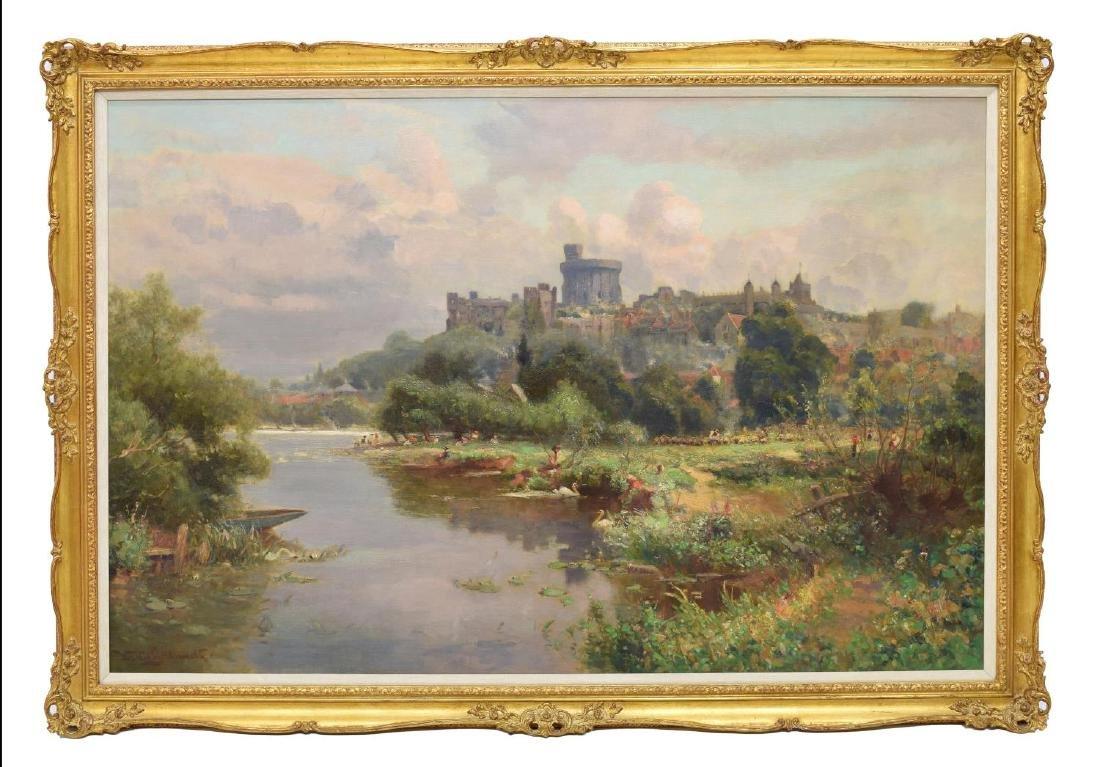 WALTER GOLDSMITH (ENGLISH 1860-1930) LANDSCAPE O/C